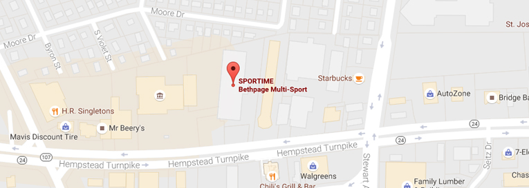 Sportime NY Bethpage Sports - hours