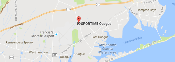 Map Of Quogue New York.Sportime Ny Quogue About