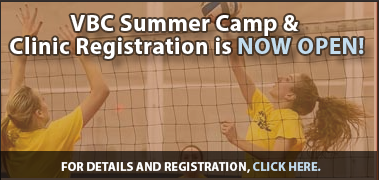 VBC Summer Camp & Clinic Registration is NOW OPEN!