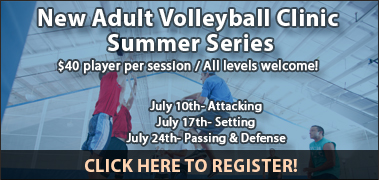 New Adult Volleyball Clinic