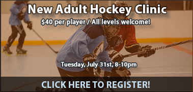 New Adult Hockey Clinic