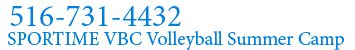 Logo Volleyball Club (VBC) 516-731-4432